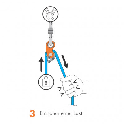 Bilde 3 fra Maximilian for Climbing Technology - Rollnlock - Trinser