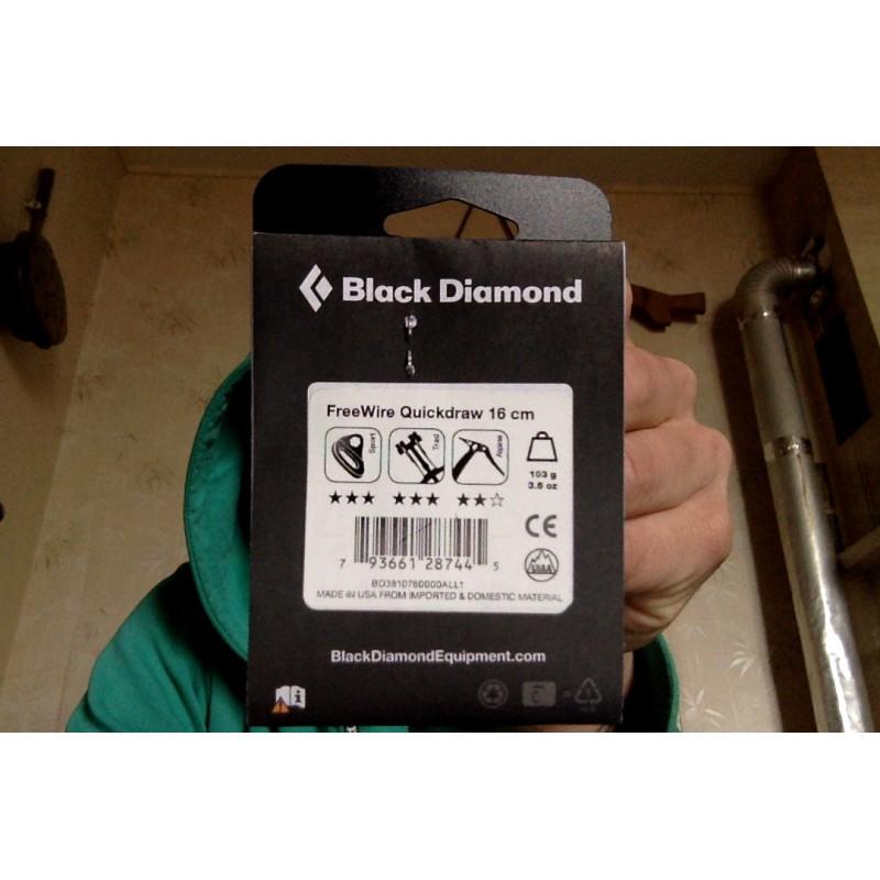 Bilde 1 fra John for Black Diamond - Freewire Quickdraw - Ekspress-sett