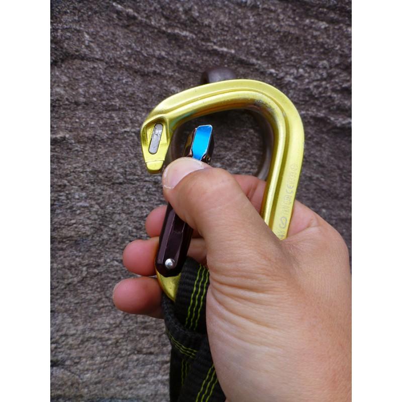 Bilde 4 fra Gear-Tipp for Black Diamond - Magnetron Vaporlock - Låsekarabiner
