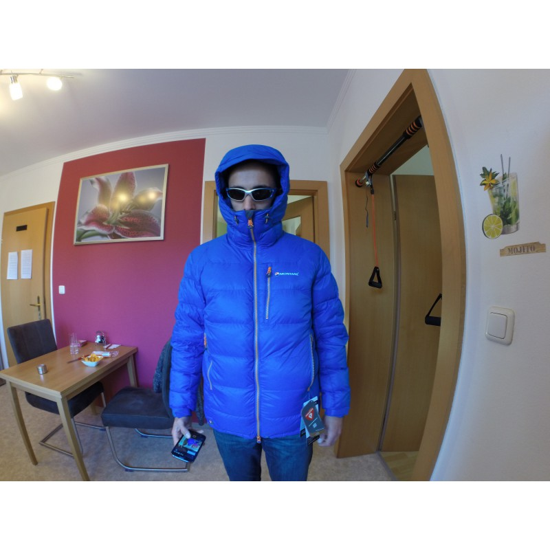 Bilde 1 fra Michael for Montane - Black Ice 2.0 Jacket - Dunjakke