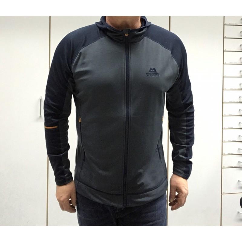 Bilde 1 fra Frank for Mountain Equipment - Flash Hooded Jacket - Fleecejakke
