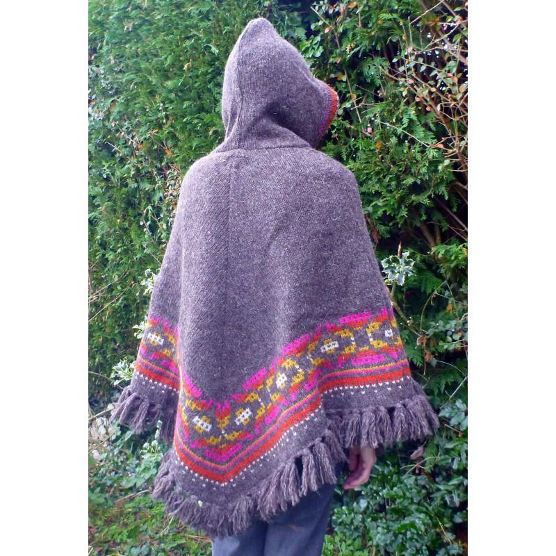 Bilde 7 fra Karen for Sherpa - Women's Samchi Poncho - Ulljakke